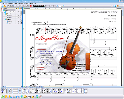 MagicScore - Music Notation Software for Musicians - MagicScore music notation software provides you with the absolute best value for your investment dollar - MagicScore Maestro is the most powerful music notation software!